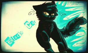 Black Cat by Claw-kit