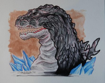 Godzilla on ice. by JacobWalsh