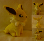 jolteon plush by Plush-Lore