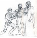Snape-Star Wars confrontation by penguin2006