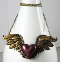 My Love Soars Necklace by NeverlandJewelry