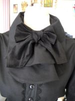 Cleo's Blouse - Black Jabot by spookydarling