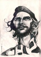 Che Guevara by carloscartoons