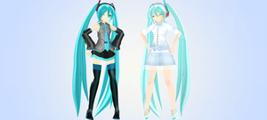 CD Miku MMD DL by princessfox1