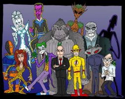 DC Villains by Lordwormm