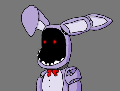 Withered Bonnie Drawing by AquaGumball
