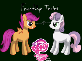 MLP:FiM the Movie Friendships Tested Poster by WolfyOmega