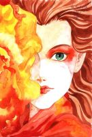 THE HEART OF FIRE by Painera