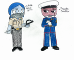 Coast Guard and Marines by ChristianCosmo