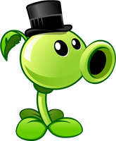 Plants vs Zombies 2 Peashooter(Costume) by illustation16