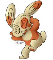 PokeCollab: Spinda by ConstantSoliloquy
