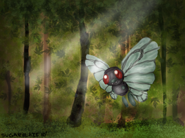 Butterfree Forest by sugarblaze