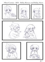 KH - Baby Roxas and Baby Xion by KickBass77
