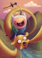 Adventure Time by shubacca