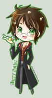 Chibi Harry Potter by SiliceB