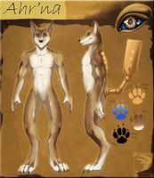 Ref Sheet Comish - Ahr'na by TwilightSaint