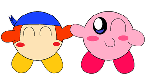 Kirby and Bandana Dee Friends for life! by PenelopeHamuChan