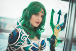 Battle Sailor Neptune Cosplay: A thousand seas by MomoeHamaguchi