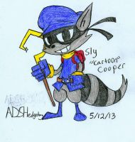 Cooper Cartoons: Sly Cooper by ADSHedgehog