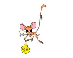 Laylah the deer mouse by Mastermindhunter
