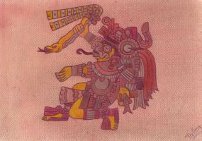 Tlaloc by totemica