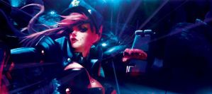 League of Legends: Officer Vi by Nightfall1007