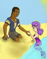 Present from the little mermaid by TiElGar