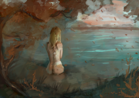 in the lake by Nierix
