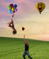 Balloon Love Story by joel-lawless-ormsby