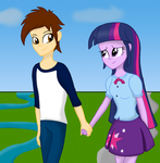Walking Together by DeannaPhantom13