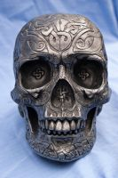 Celtic Skull by wintersmagicstock