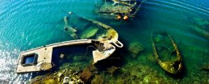 Shipwrecks panorama by hlibis