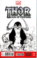 Loki - Thor, God Of Thunder #1 by SpiderGuile