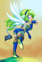 Melandy Takes Flight by artistgamergal