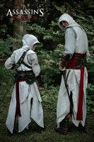 Assassins Creed - Master and Apprentice by KejaBlank