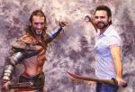 Leon Chiro and Dustin Clare - Gannicus Cosplay by LeonChiroCosplayArt