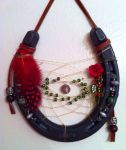 Red Rose Dreamcatcher by KonKataCreations