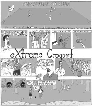 Extreme Croquet (1/2) by Honey-Hovercraft
