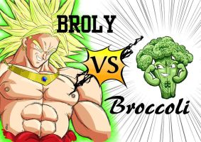 Commission 1 Broly VS by CelesOran