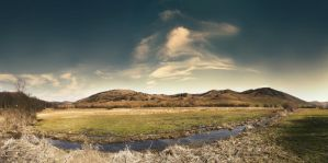 panoramic landscape by compot-stock