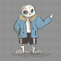 Undertale Sans by Silverzan
