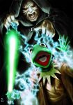 The Emperor vs Jedi Kermit by Robert-Shane