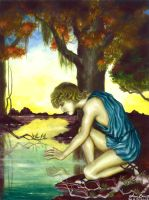 Narcissus by Amelie-the-Fox