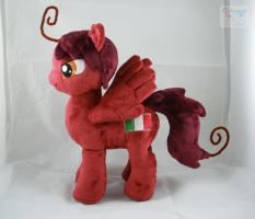 Hetalia Romano Pony Plushie by LiLMoon
