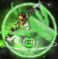 Green Lantern Ion by dankalel23