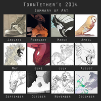 The year of scribbles by TornTethers