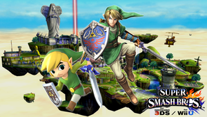 Super Smash Bros. Wii U / 3DS - Link and Toon Link by Legend-tony980