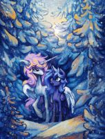 I don't feel cold, Tia by Koviry