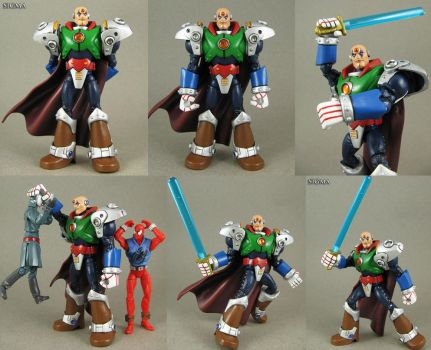 Custom Megaman X Sigma action figure by Jin-Saotome