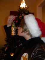 Alfred- Xmas Kiss for... by SelexiaOfTheHeart